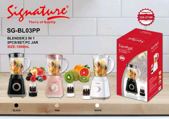 2 in 1 juice blender