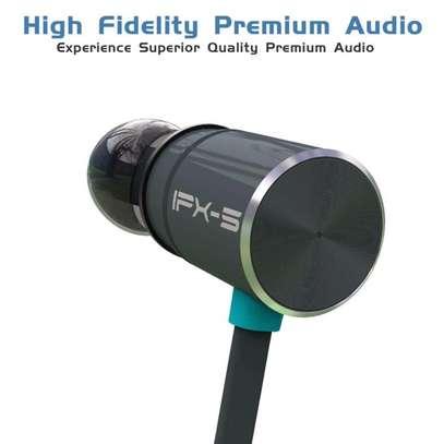 Plextone Wireless Headphone IPX5 Waterproof Dual Battery 8 Hours music time Bluetooth Sport Earphone for Running image 2