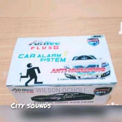 Afritec car alarm with Engine cutoff, free installation image 1