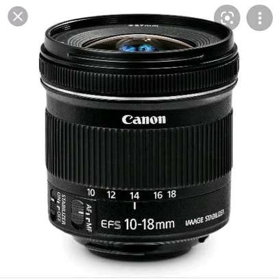 Canon camera lens 10-18mm image 3