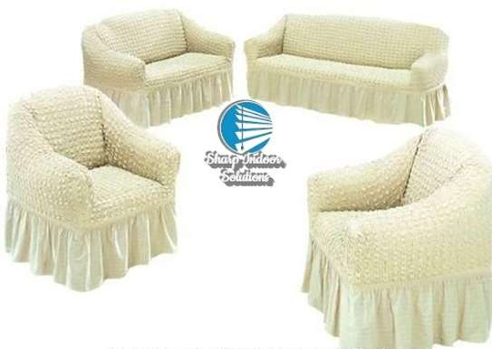 5 cushion couch Elastic Sofa cover image 7