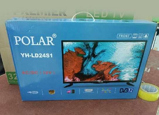 24 Inch Digital Inbuilt Decorder LED Polar TV image 1