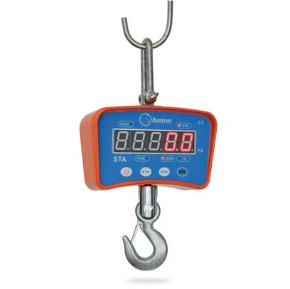 rechargeable battery digital  crane scale 500kg. image 1