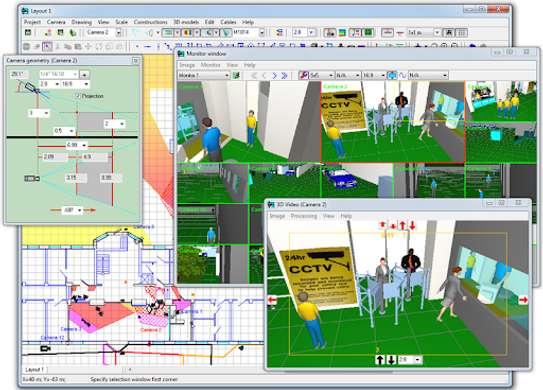 CCTV ARCHITECTURE, DESIGN, INSTALLATION, STREAMING & MANAGEMENT image 3
