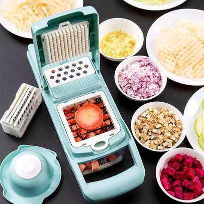 Grater with potato chipper image 1
