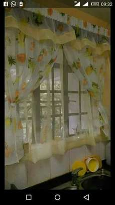 Beautiful kitchen curtains image 7