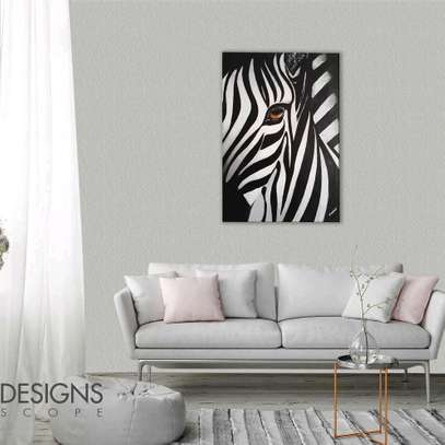 Canvas painting_Grevy Zebra