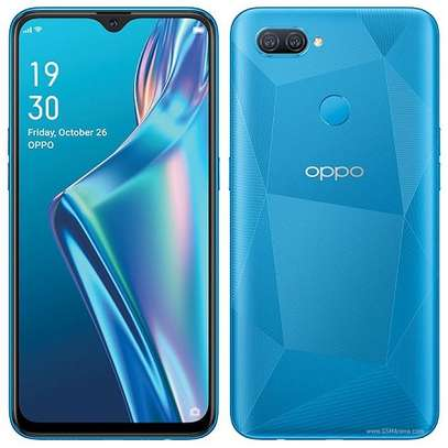 Oppo A12: 6.22inches, 32GB + 3GB RAM (Single SIM), 4230 MAh- Blue image 1
