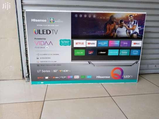 50U7QF Hisense 50 Inch ULED 4K UHD Smart TV-New Model image 1