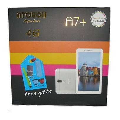 "Atouch A7+ Kids Tablet, 7"", 1GB RAM + 16GB – Wi-Fi - 4G (Single SIM) image 1"