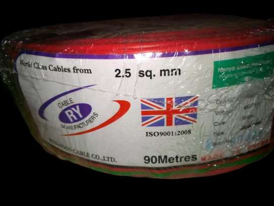 2.5 mm Single core Electrical cables
