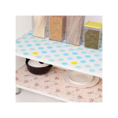 Kitchen cabinet and drawers liners , waterproof re usable Anti-oil Drawer Paper Drawer paper Home Wardrobe Pad Cabinet Mat Kitchen Gadgets Tools-0.3-3Metres long image 6