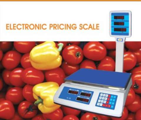 50Kgs Price Computing Table Top Bench Weigh Scale ACS-818D image 1