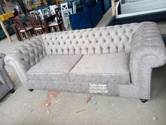 Complete set of sofas/classic livingroom sofa designs/three seater sofa/two seater sofa/wingback sofas/Victorian sofas image 4