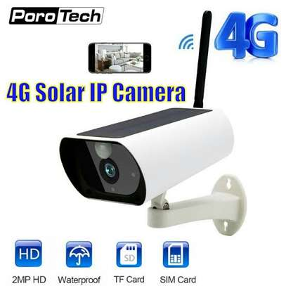 3G/4G sim Card CCTV Camera 100% wireless image 1