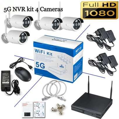 4 channel wireless NVR5G camera image 2
