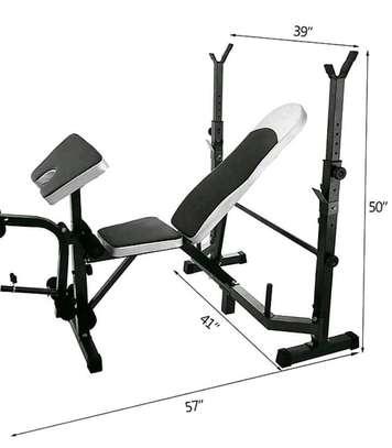 Multifunctional weight bench image 1