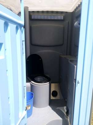 Mobile toilets available for hire image 4