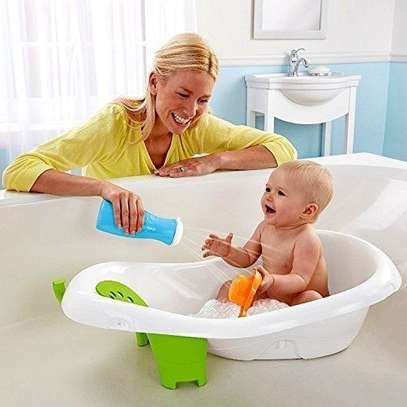 Baby Hanging 4 Stage Newborn To Toddler Baby Bath Tub For Kids - Gift Toy