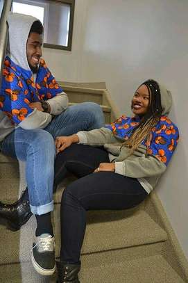 Ankara African Couple Outfit image 3
