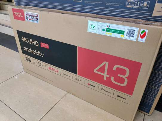 TCL 43 Inch Smart 4k P8US