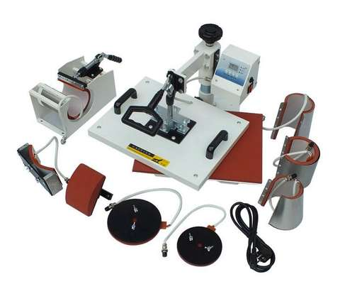5 in 1 Combo Heat Press Sublimation Machine image 2