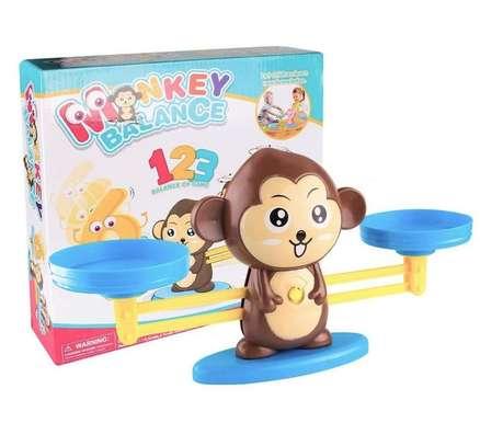 Monkey Balance Math Game for Girls Boys Educational Toys image 1