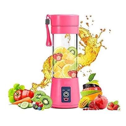 portable blender pink image 1