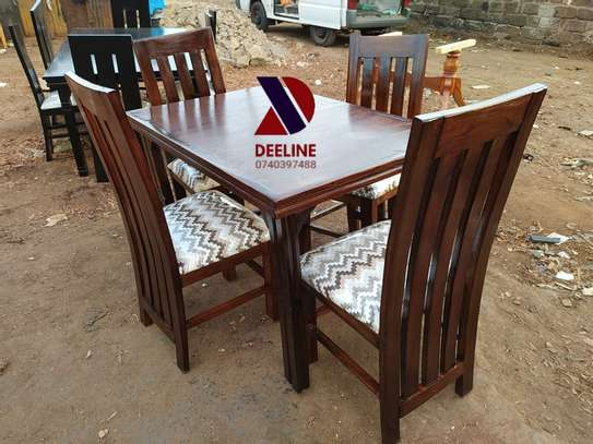 4 seater Dining Table Sets. image 1