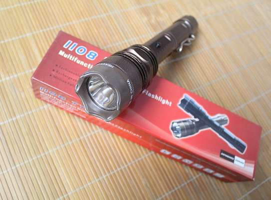 1108 Model Taser LED Flashlight Torch