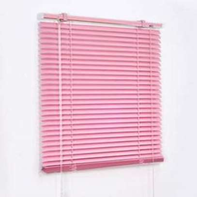 office blinds pink image 2
