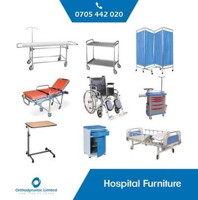 1 Crank Manual Hospital Bed  - single fold / function image 8