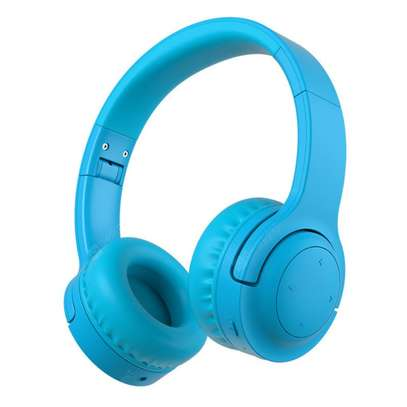 Picun E3 Bluetooth Headphone for Kids (Blue) image 1