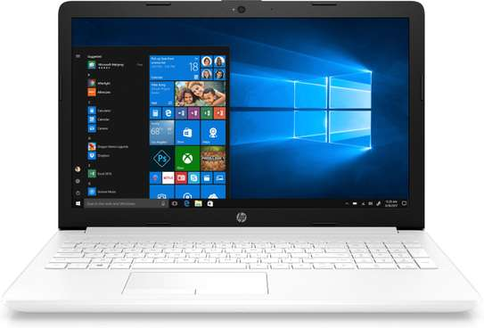 Hp NoteBook 15 AMD Ryzen™3 3200U 2.6GHz 8GB RAM DDr4 256GB SSD win10 -White image 1