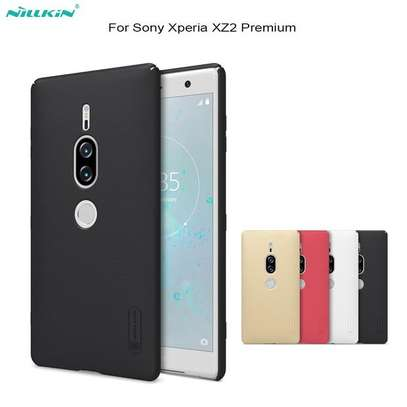 NILLKIN Super Frosted Shield Back Cover For Sony XZ2 Premium image 3