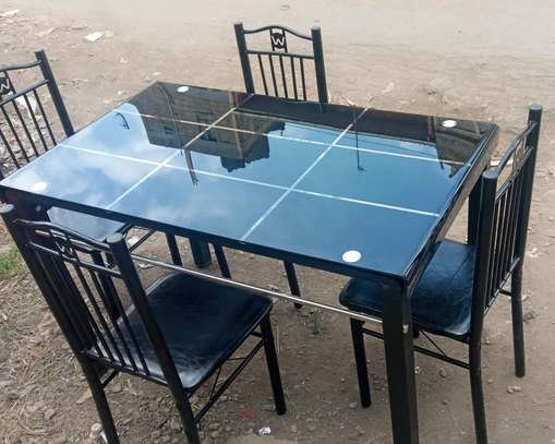Linsy luxury four seater dining table image 1
