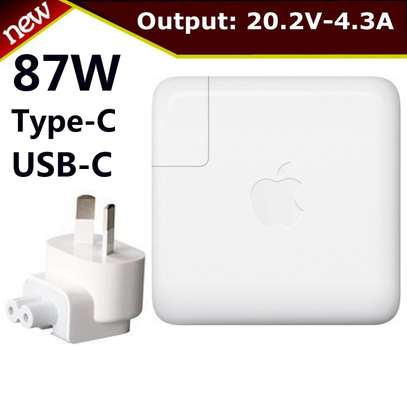 Apple Magsafe USB Type C 87W A1719 Power Adaptor Charger [87 W/ USB C] image 1