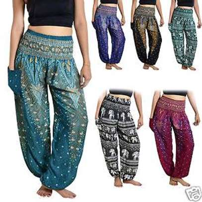 High waist harem pants image 2