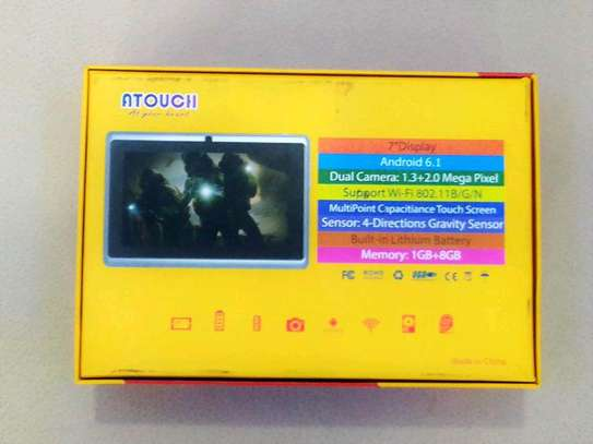 ATOUCH 7″ KIDS LEARNING TABLET,A32 ANDROID 6.1, 8GB, WI-FI, QUAD CORE, DUAL CAMERA image 2