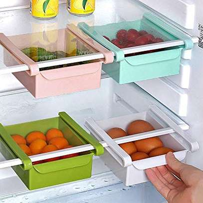 4 pieces multi purpose fridge shelves image 1