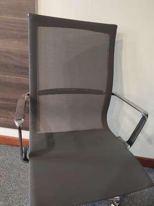 High Back Mesh Chair image 3
