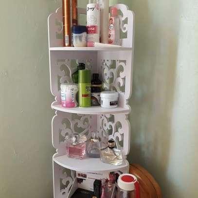 4 Tier Multipurpose Corner Decor Shelf/stand image 2