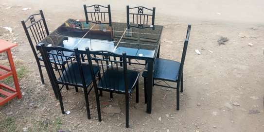 Bulk 6 plates dinner/dining table with suitable price image 1