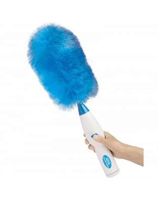 Hurricane Spin Duster Electric Feather Dirt Dust Brush image 6