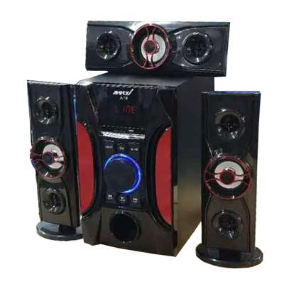 Ampex A18 12000 Watts Multimedia Speaker System-black image 2