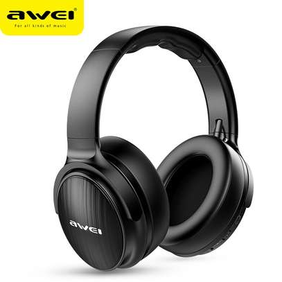AWEI A780BL Wireless Headphone Bluetooth 5.0 Earphone With Microphone Deep Bass Gaming Headset Support TF Card image 1