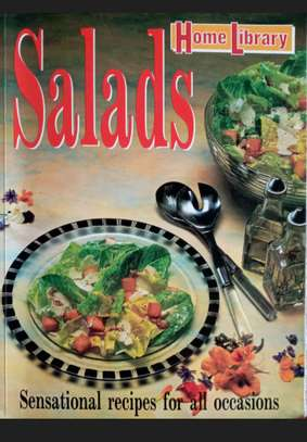 Recipie book on salads image 1