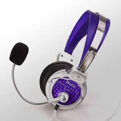 Bass Headphones with mic image 1