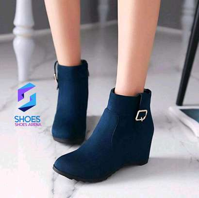 Pure Suede Ankle Boots image 2