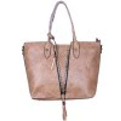 Brown Leather Hand Bag image 1
